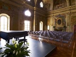 """Biblioteca Musicale """"Andrea Della Corte"""" (Villa Tesoriera, Torino)."""